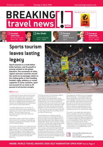 Breaking Travel News Special Edition - ITB Berlin 2009 Day 2
