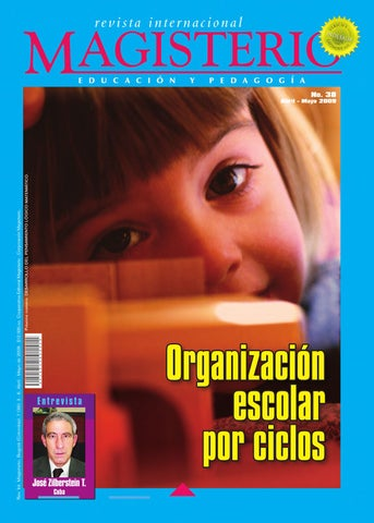 Revista Internacional                                             Magisterio N 38