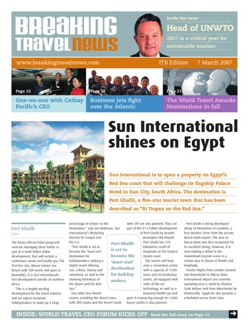 Breaking Travel News Special Edition - ITB Berlin 2007 Day 1
