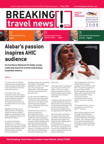 Breaking Travel News Special Edition - AHIC 2008 Day 2