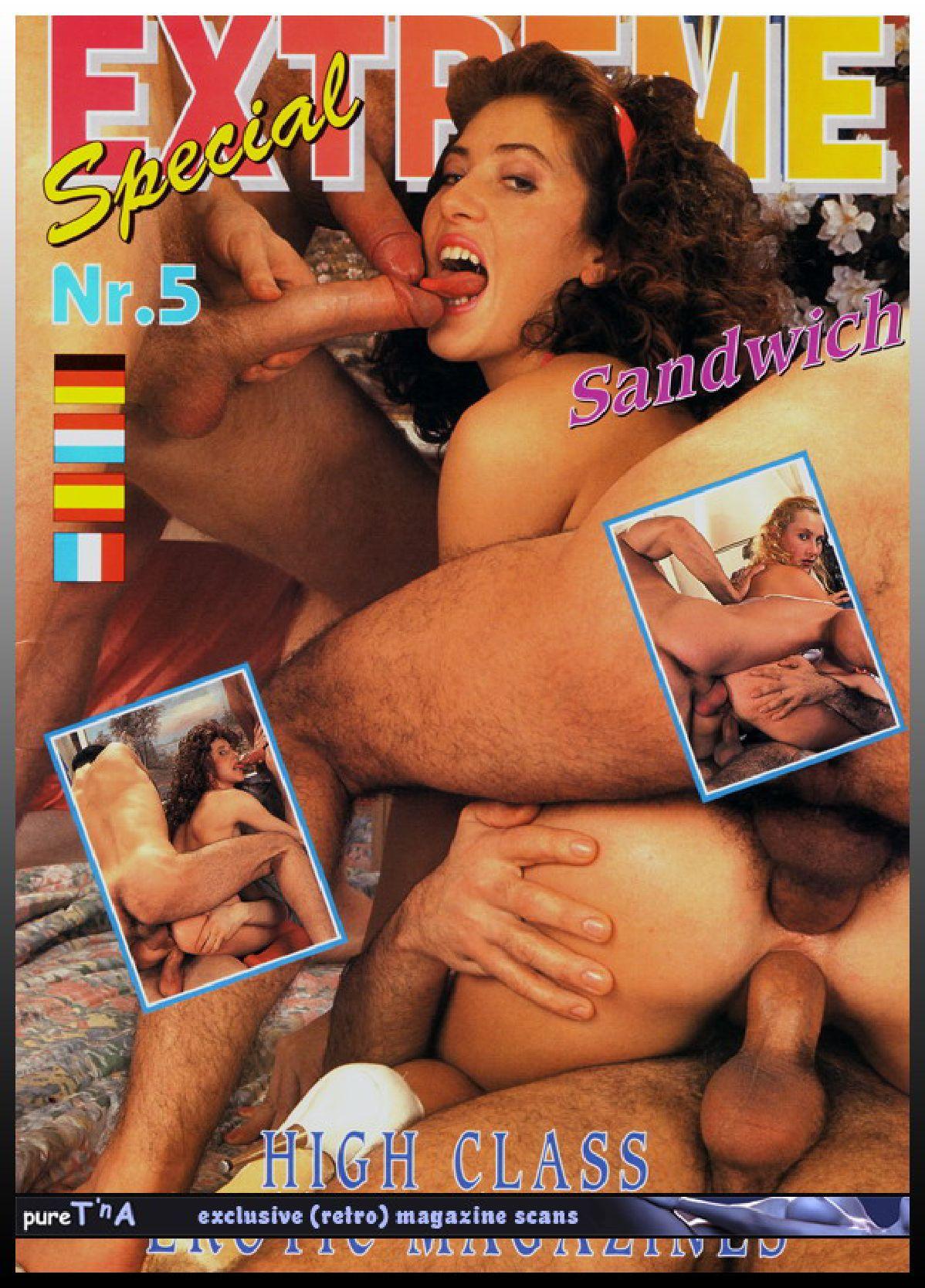 Adult porn magazine