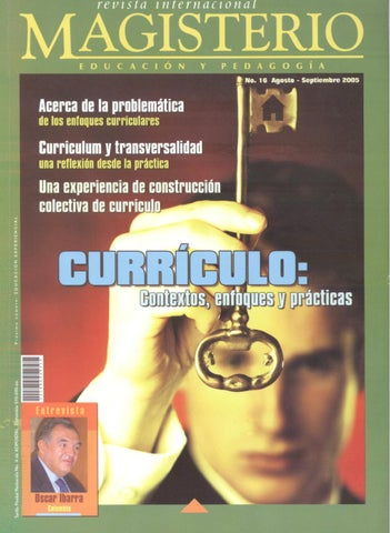 Revista Internacional                                             Magisterio N 16