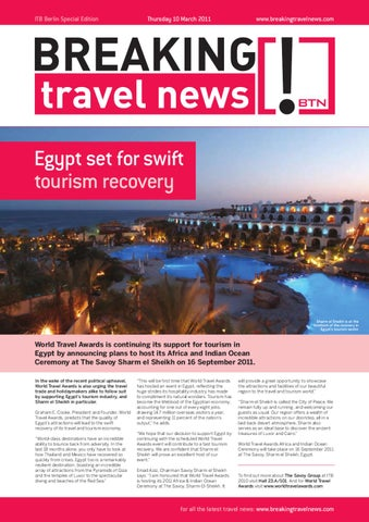 Breaking Travel News Special Edition - ITB Berlin 2011 Day 2