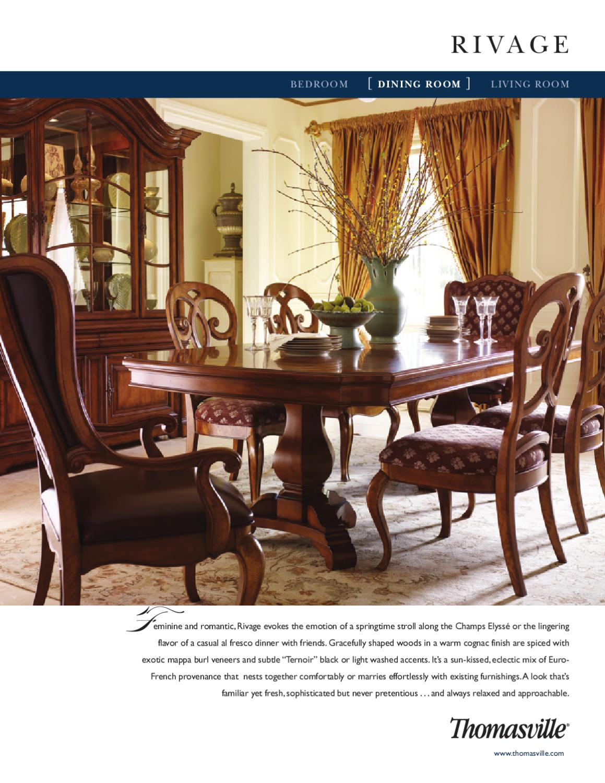 Thomasville dining room