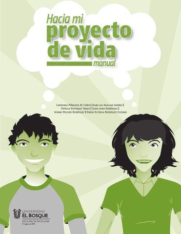 Manual Hacia mi proyecto de vida.                                   Ed. 2