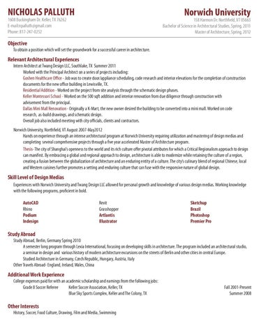 Read More About Resume Writing By