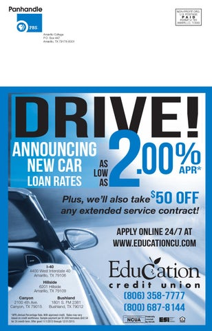 Amarillo auto loan rates