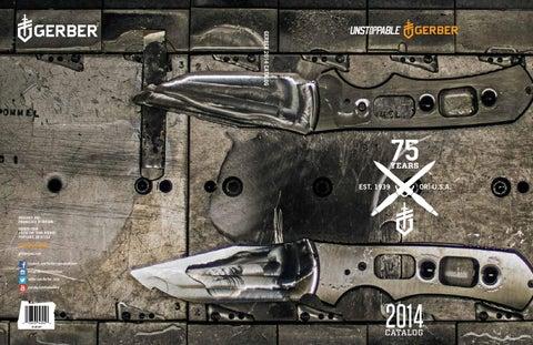 Gerber catalog spreads 2014