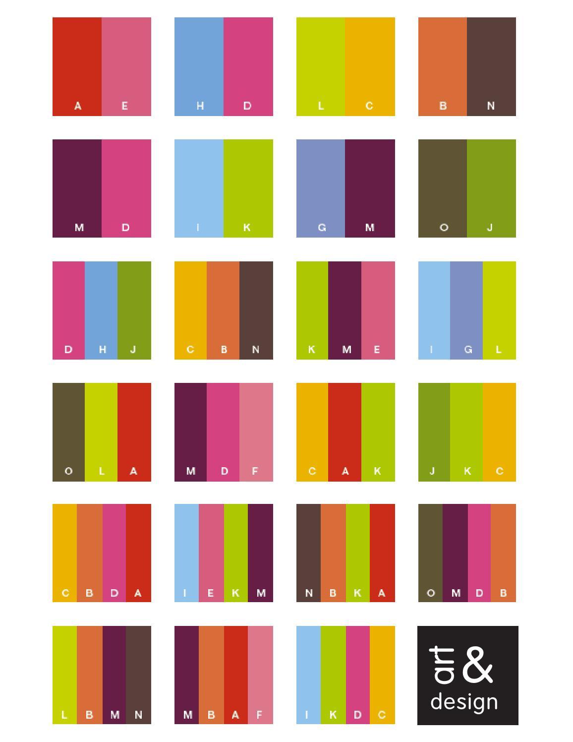 С какими цветами сочетается терракотовый цвет для вязания