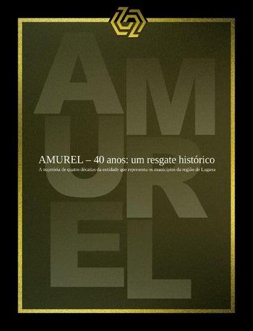 Revista Histórica AMUREL 40 anos