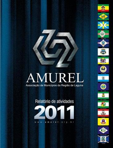 Relatório de atividades AMUREL - 2011