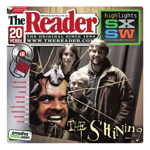 The Reader March 20 - 26, 2014