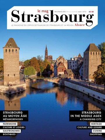 Magazine de l 39 office de tourisme de strasbourg et sa - Office de tourisme de strasbourg et sa region ...