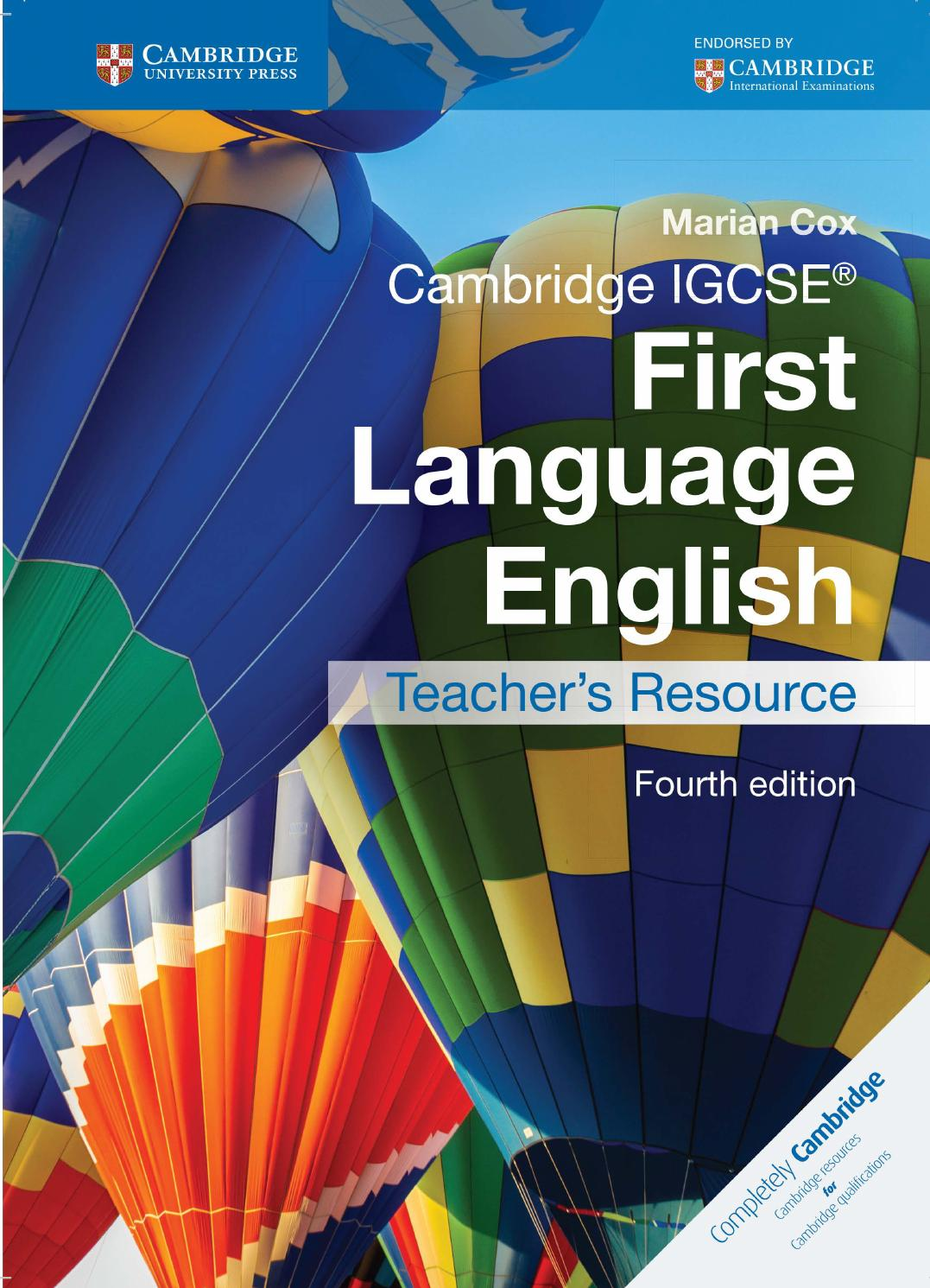 igcse english coursework resources