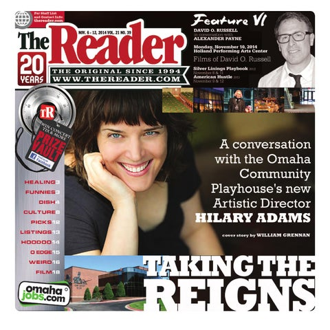 The Reader Nov. 6 - 12, 2014