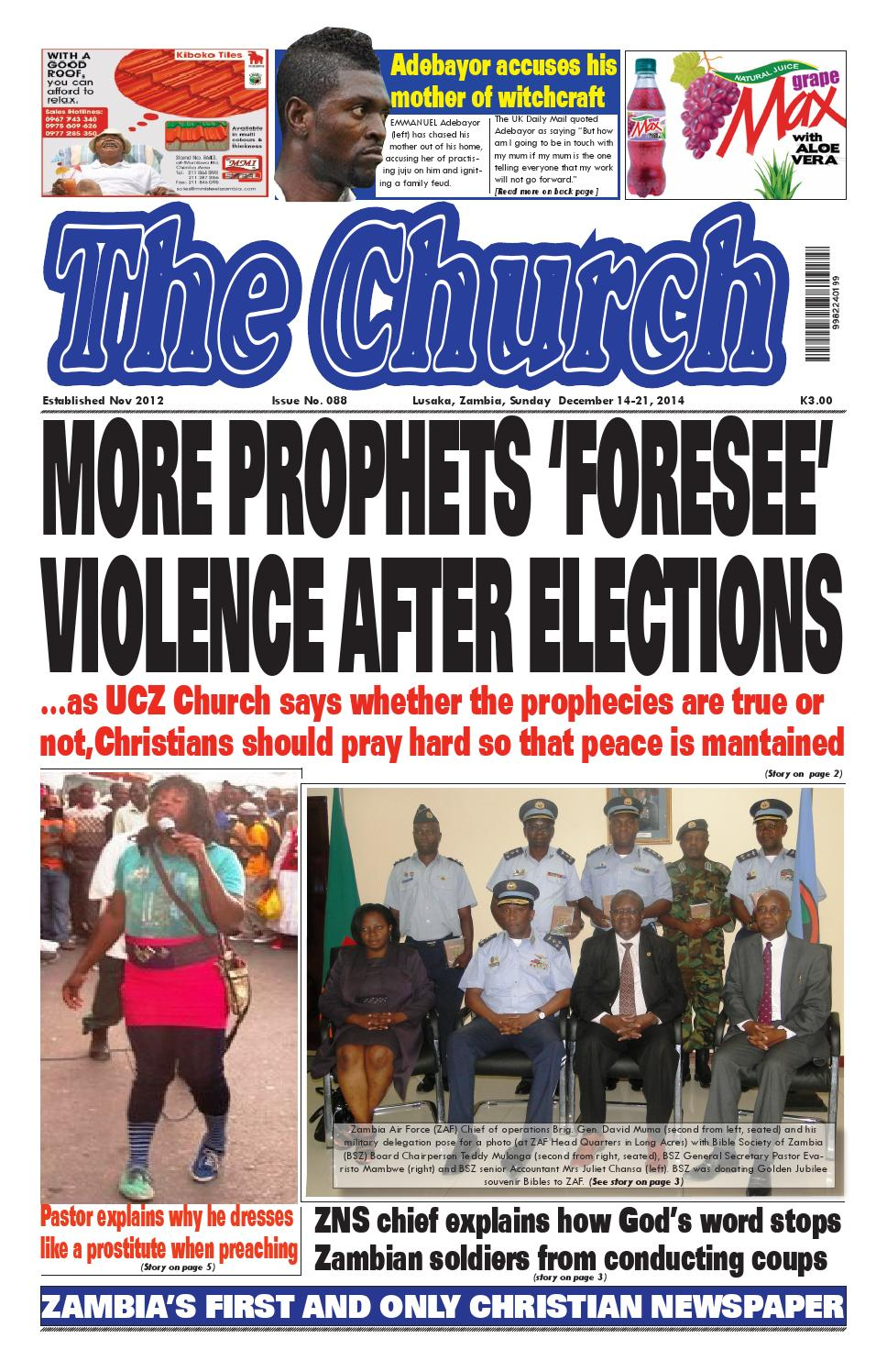 Newspaper zambia