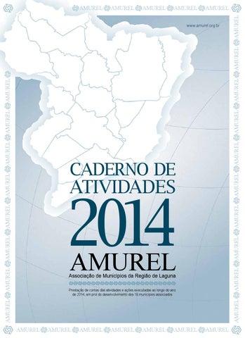Caderno de Atividades AMUREL - 2014