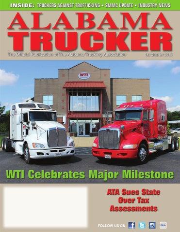 alabama trucker, 1st quarter 2015 by alabama trucking