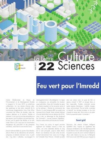 La lettre Culture Science n°22