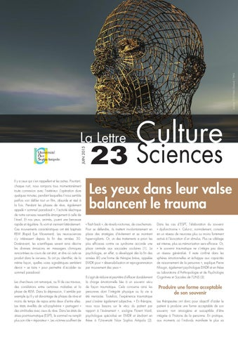 La lettre Culture Science n°23