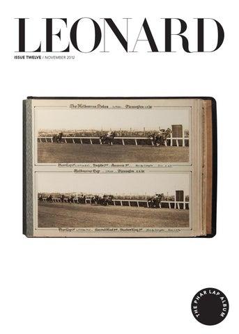 LEONARD, issue 12, November 2012