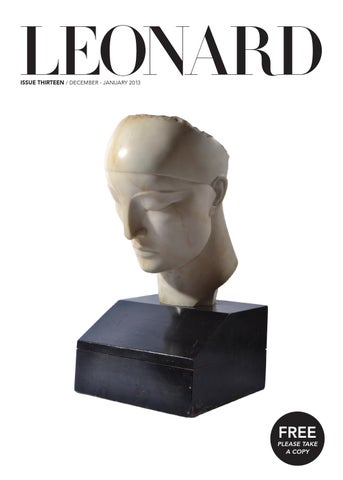 LEONARD, issue 13, December-January 2013