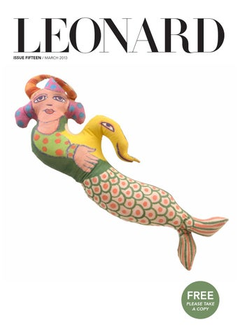 LEONARD, issue 15, March 2013