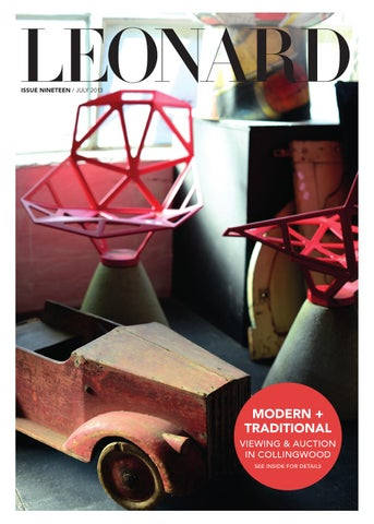 LEONARD, issue 19, July 2013