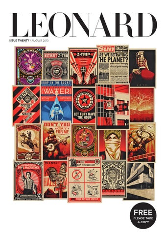 LEONARD, issue 20, August 2013