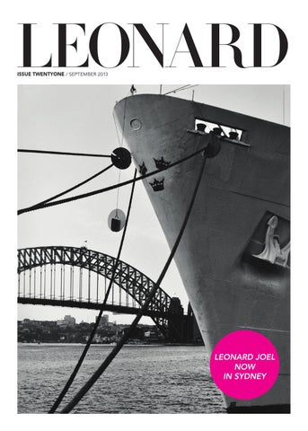 LEONARD, issue 21, September 2013
