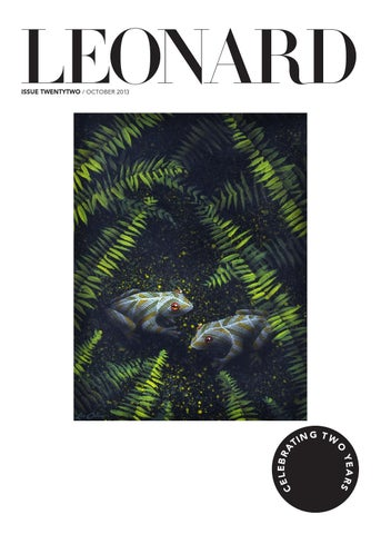 LEONARD, issue 22, October 2013