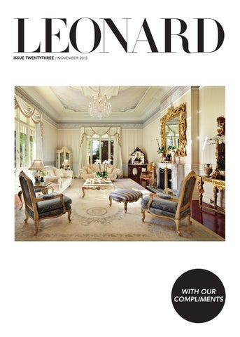 LEONARD, issue 23, November 2013