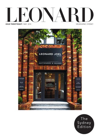 LEONARd, issue 28, May 2014