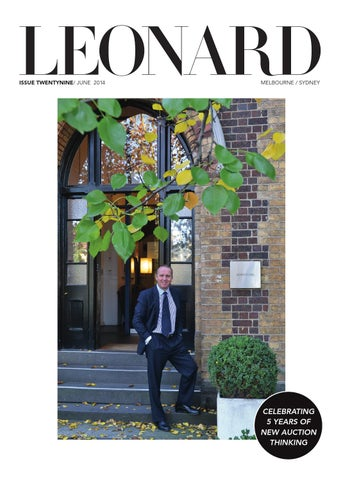 LEONARD, issue 29, June 2014
