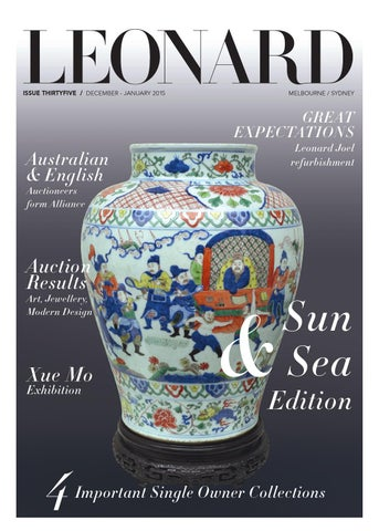 LEONARD, issue 35, December-January 2015