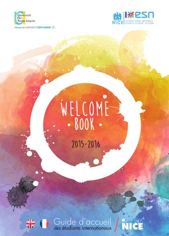 Welcome book 2015/2016