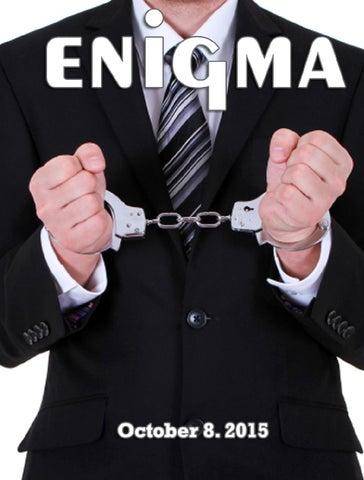 Enigma 10/08/15