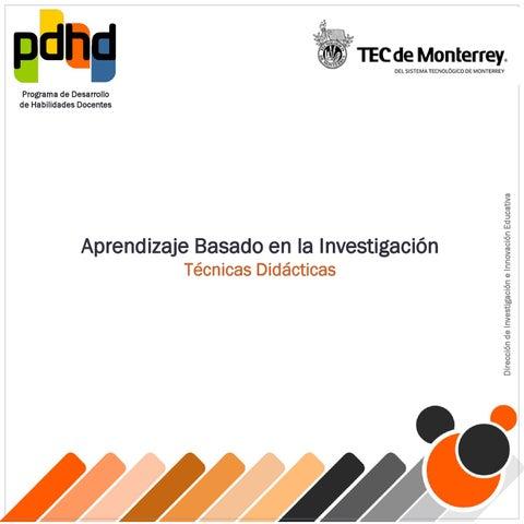 Metodo aprendizaje basado en                                     investigacion