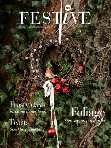 Issue 1 Luxe Festive