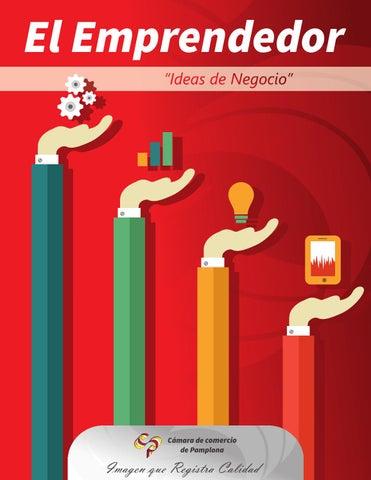 """Cartilla el                                               Emprendedor """"Ideas de                                               Negocio"""""""