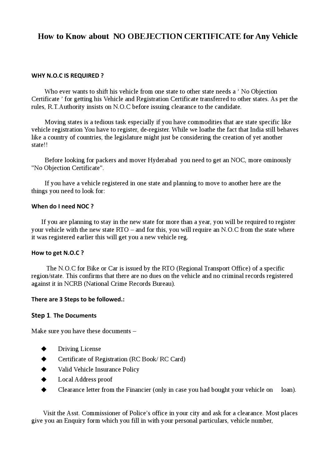 registration letter format