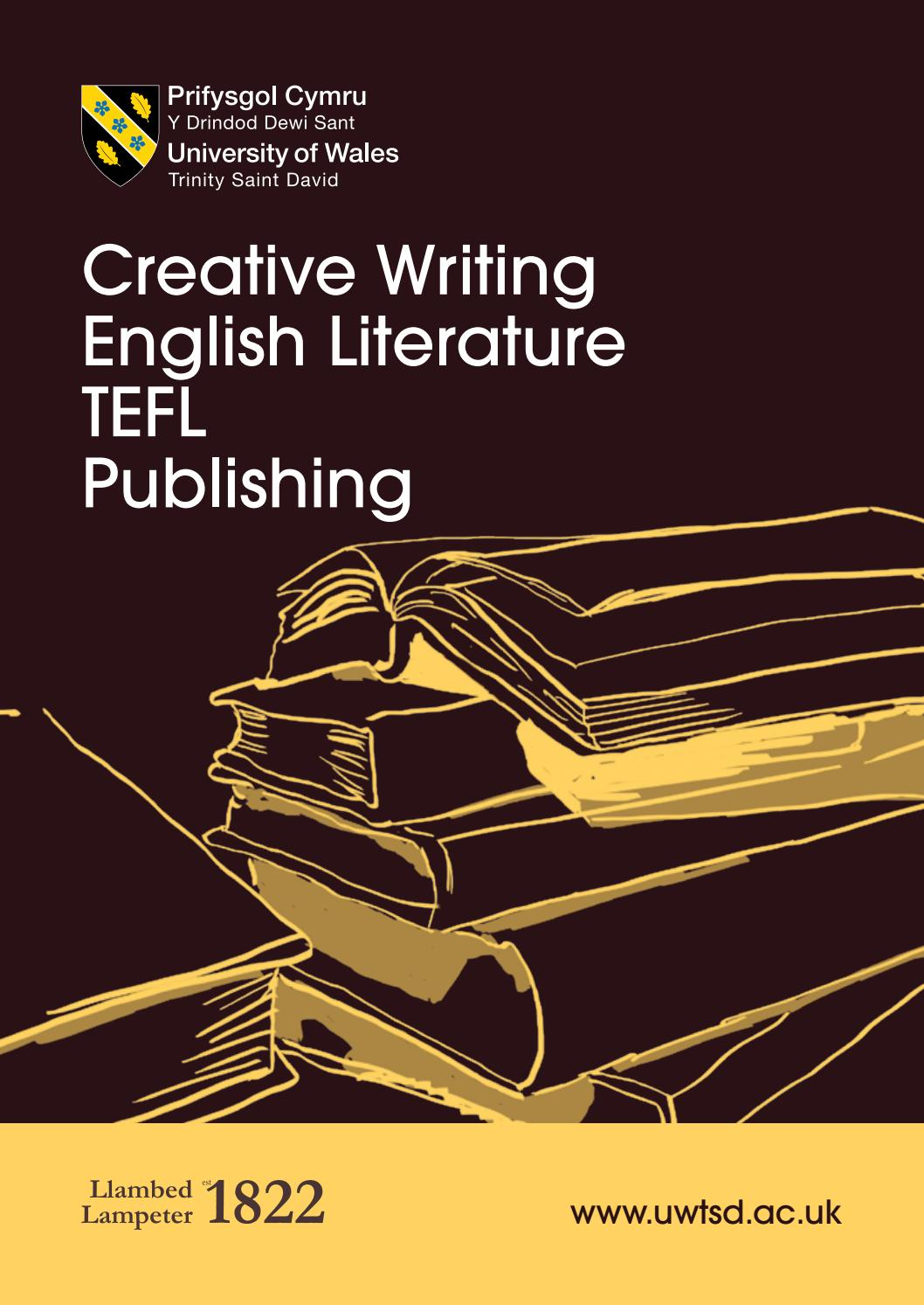 english and creative writing degrees uk