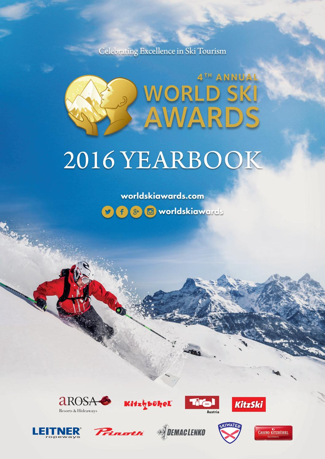 World Ski Awards 2014 Poster