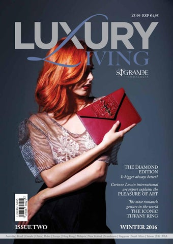luxury living magazine by clearvision marketing issuu