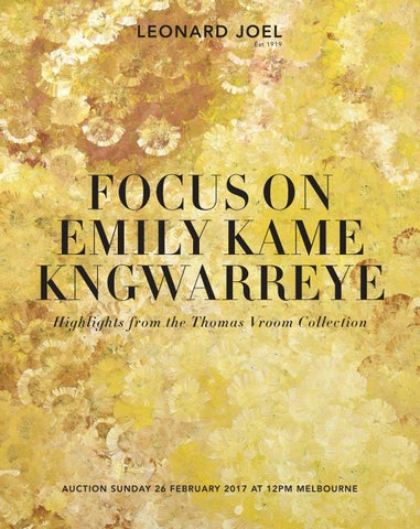 Focus on Emily Kame Kngwarreye