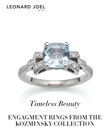 Timeless Beauty: Engagement Rings from the Kozminsky Collection
