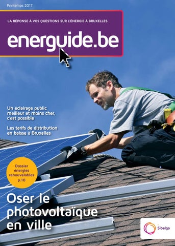 Energuide.be #16 / 2017-03