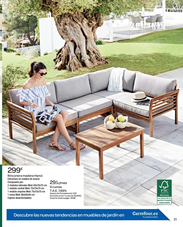 Muebles jardin nunez