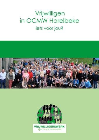 Vrijwilligersbrochure OCMW Harelbeke -- vrijwilligerswerkharelbeke