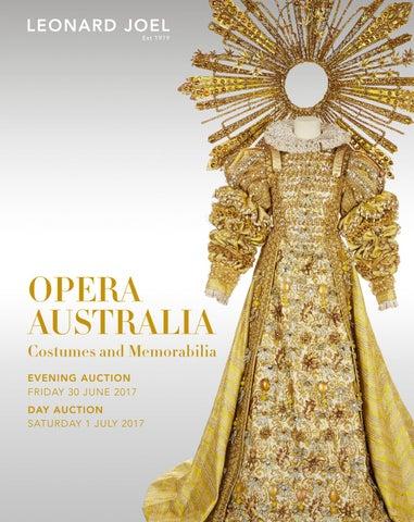 Opera Australia Costumes and Memorabilia